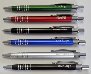 6 ring Metal Aluminium JottaPens 6 colours