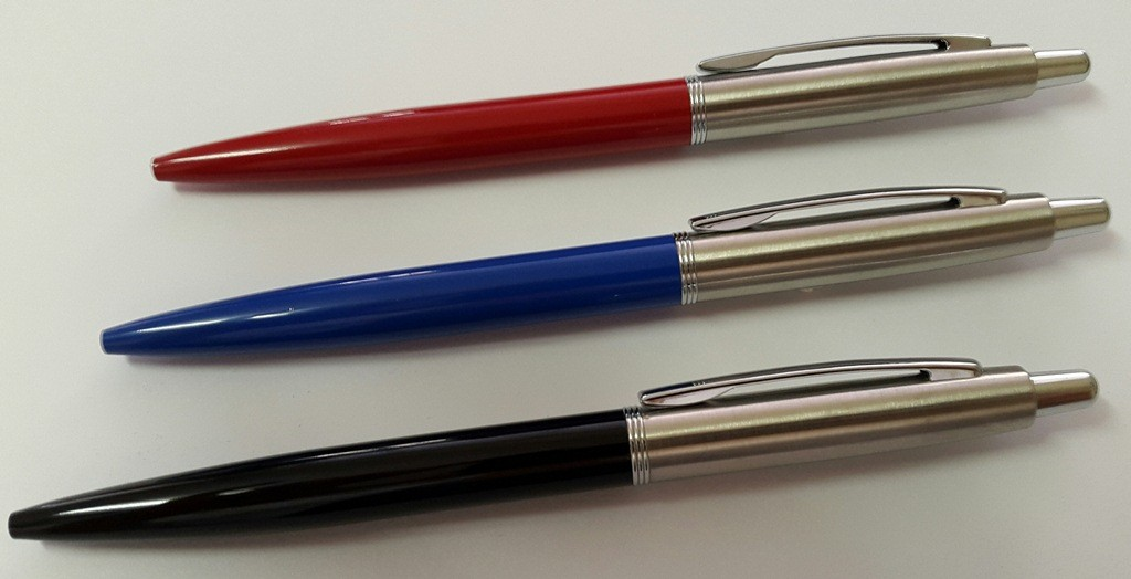 Jotta executive pens red black blue with Velvet Pouches