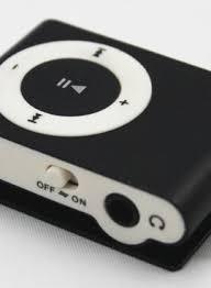 MP3 shuffle black 8 gig