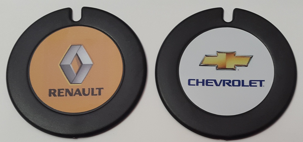 licence disc holders renault and chevrolet